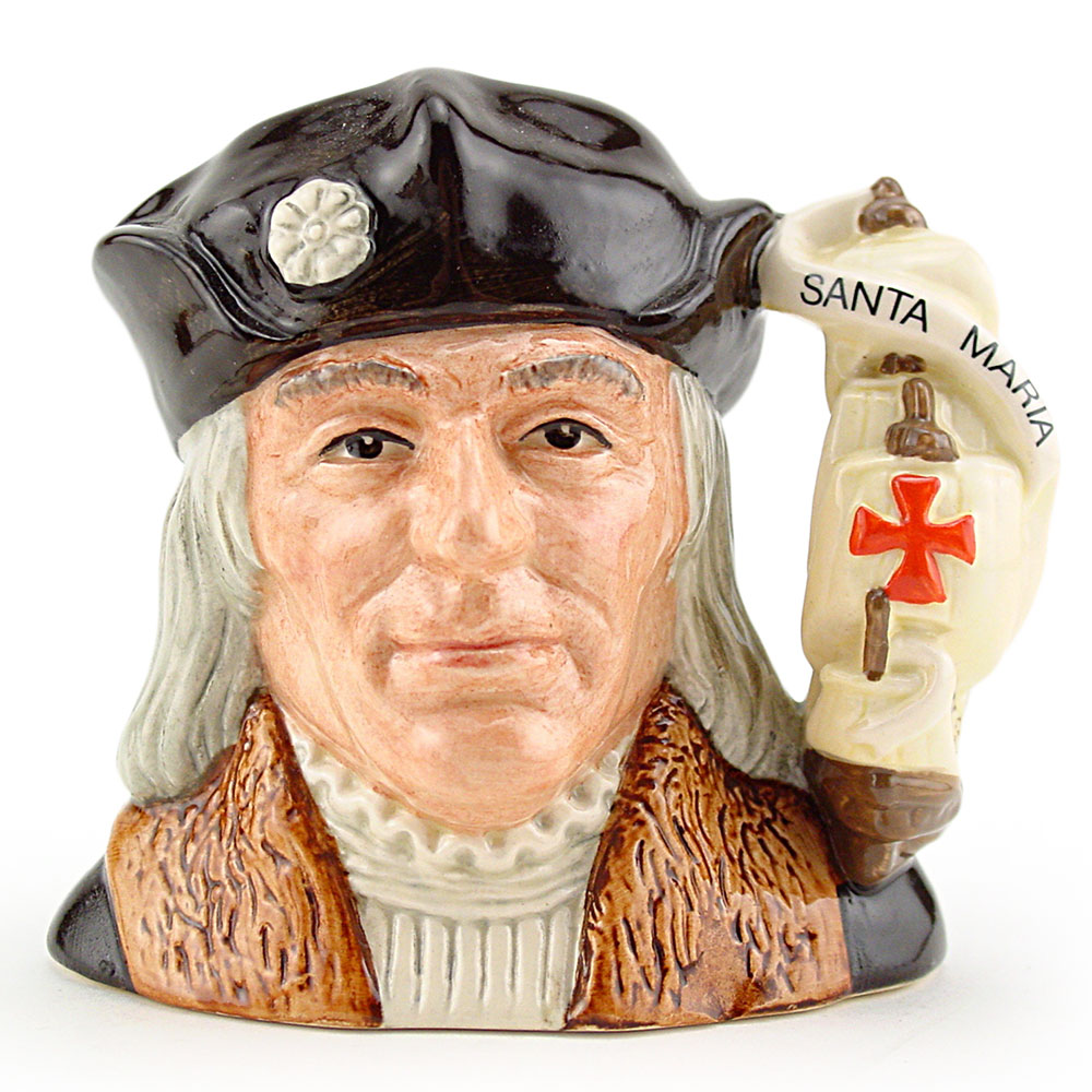 Christopher Columbus D6911 - Small - Royal Doulton Character Jug