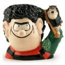 Dennis and Gnasher D7033 - Small - Royal Doulton Character Jug