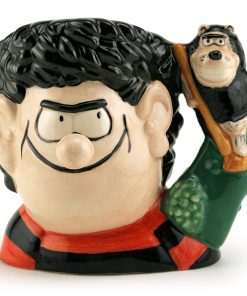 Dennis and Gnasher D7033 - Small - Royal Doulton Character Jug