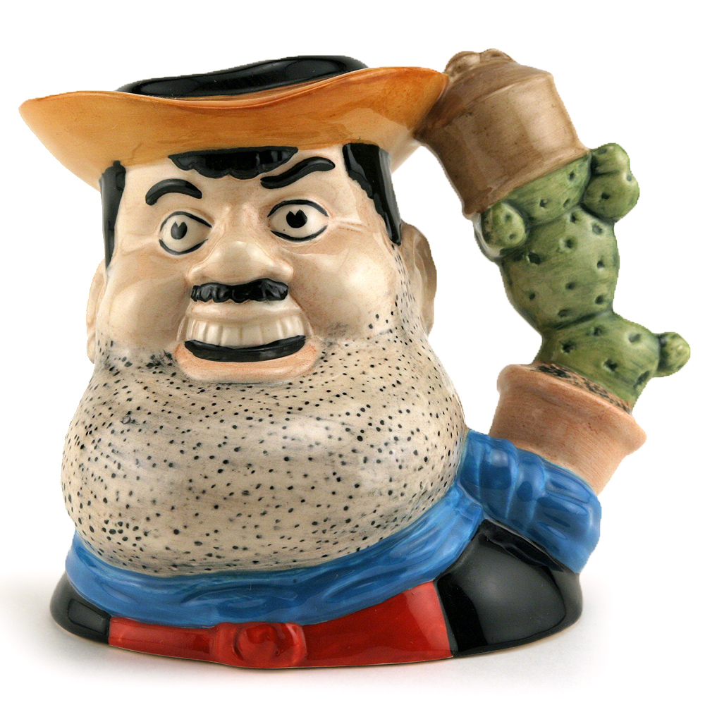 Desperate Dan D7034 - Small - Royal Doulton Character Jug