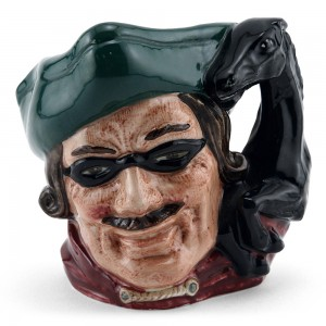 Dick Turpin (Horse Handle) D6535 - Small - Royal Doulton Character Jug