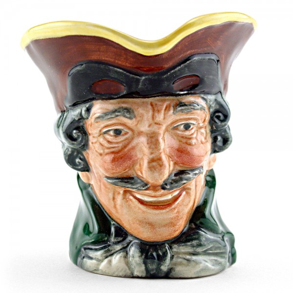 Dick Turpin (Pistol Handle) D5618 - Small - Royal Doulton Character Jug