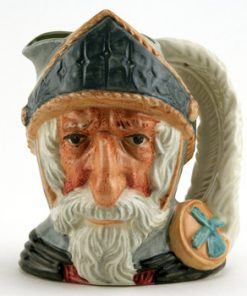 Don Quixote D6460 (Bone China) - Small - Royal Doulton Character Jug