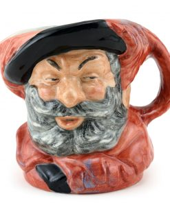 Falstaff D6385 (Bone China) - Small - Royal Doulton Character Jug