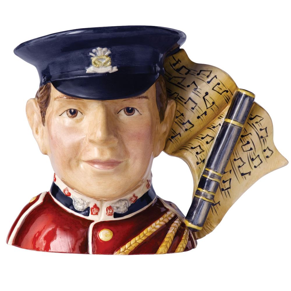 Fife Player D7217 - Small - Royal Doulton Character Jug
