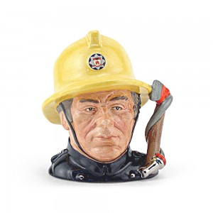 Fireman D6839 - Small - Royal Doulton Character Jug