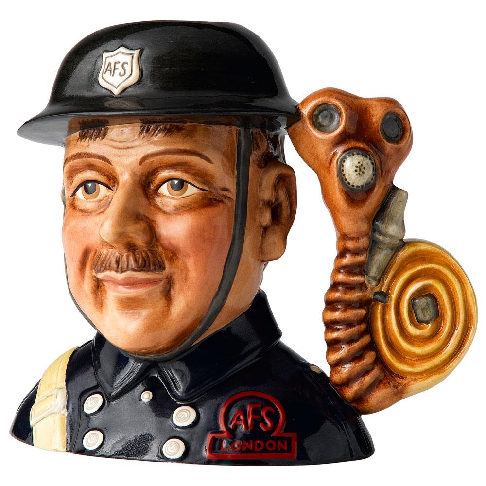 Fireman D7276 Small - Royal Doulton Character Jug