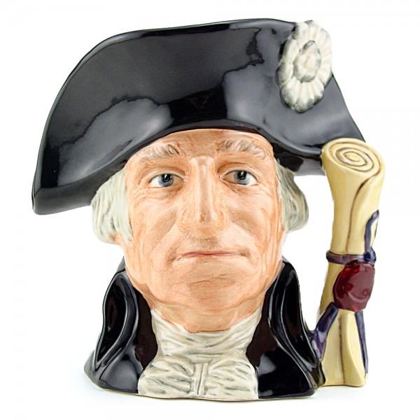 George Washington D6824 - Small - Royal Doulton Character Jug