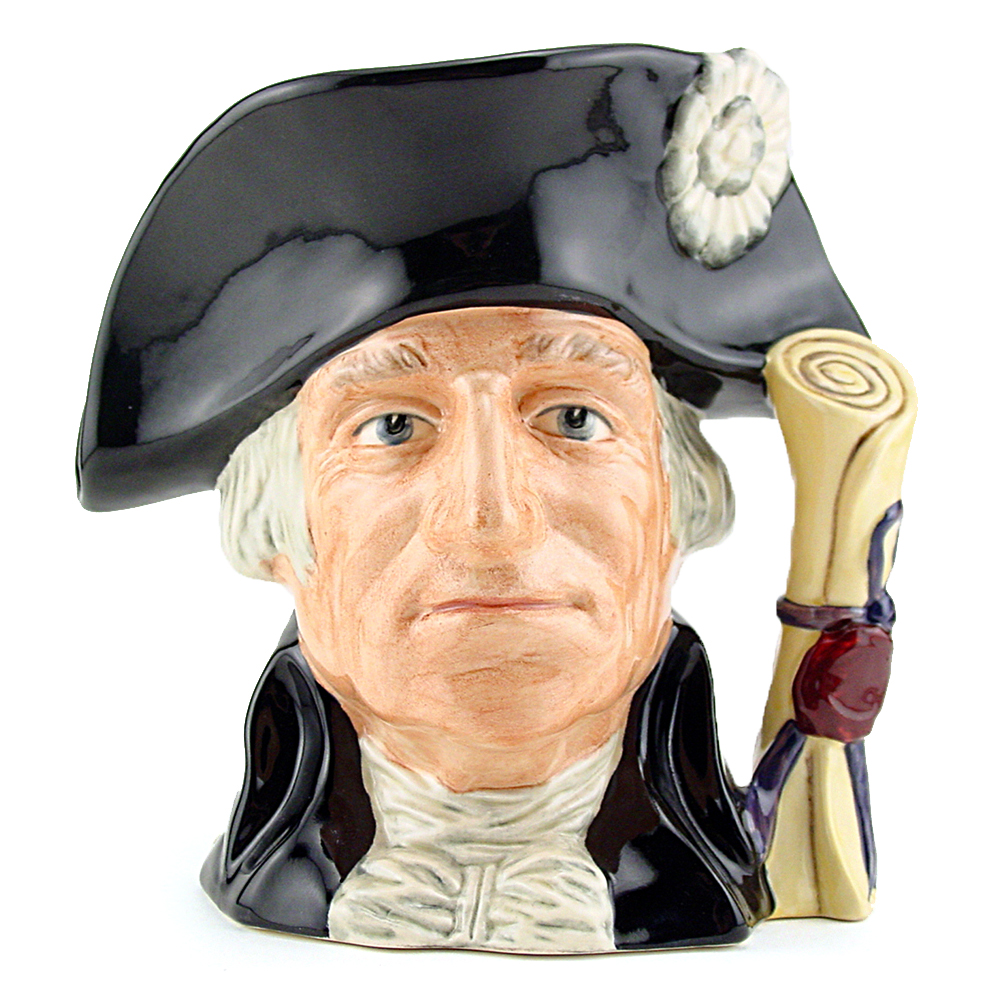 George Washington D6824 - Small - Royal Doulton Character Jug