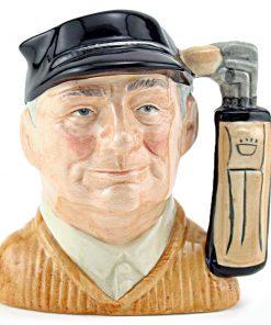 Golfer D6756 - Small - Royal Doulton Character Jug