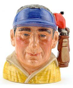 Golfer Modern Golf Bag D7064 - Small - Royal Doulton Character Jug