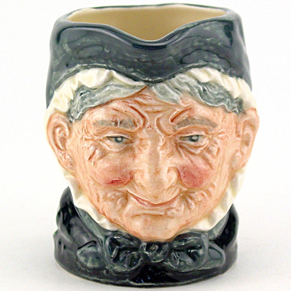 Granny D6384 - Royal Doulton Miniature Character Jug - Royal Doulton Character Jug