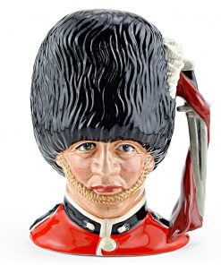 Guardsman D6771 - Small - Royal Doulton Character Jug
