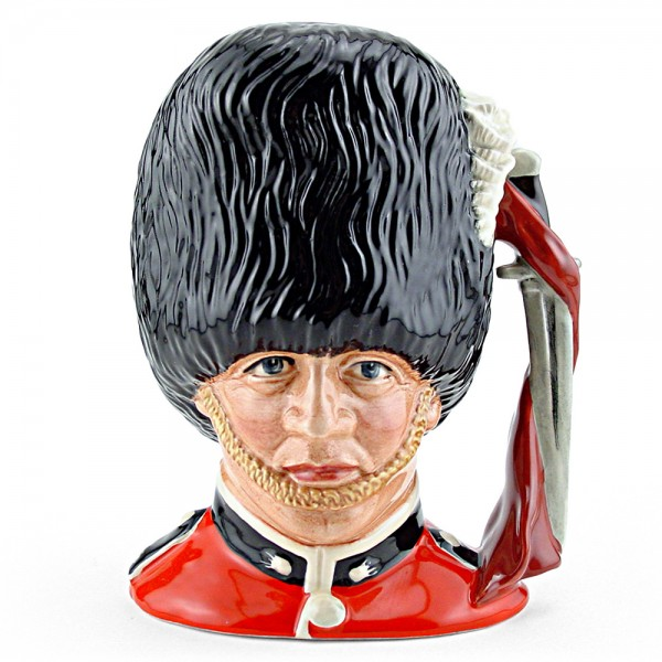 Guardsman D6771 - Small - Royal Doulton Character Jug