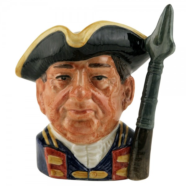 Guardsman of Williamsburg D6575 (Bone China) - Small - Royal Doulton Character Jug