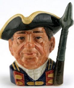Guardsman of Williamsburg D6575 - Small - Royal Doulton Character Jug