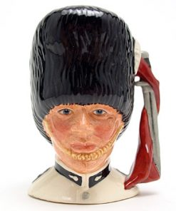 Guardsman D6771 (with white coat) - Small - Royal Doulton Character Jug
