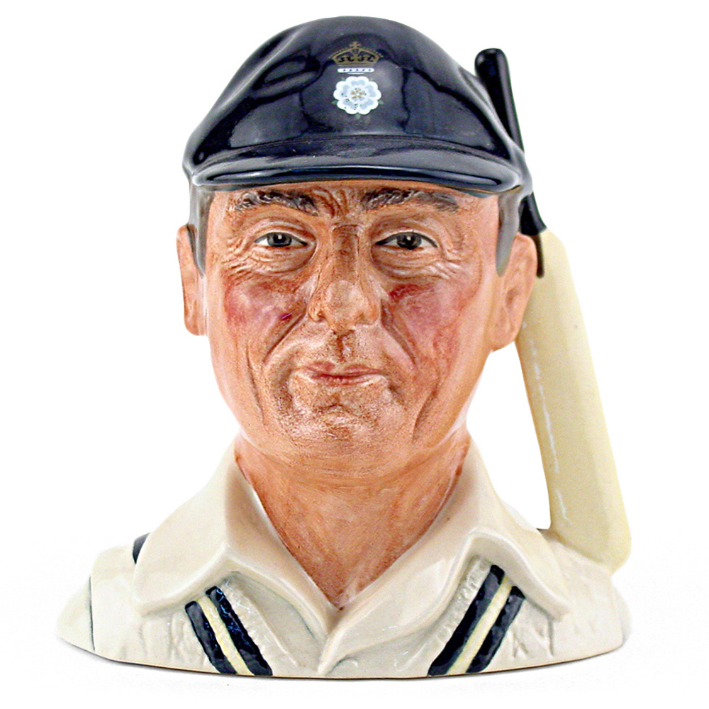 Hampshire Cricketer D6739 - Small - Royal Doulton Character Jug