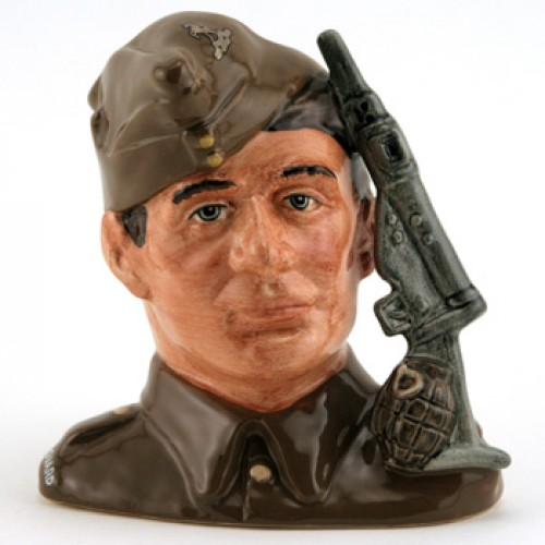 Home Guard D6886 - Small - Royal Doulton Character Jug