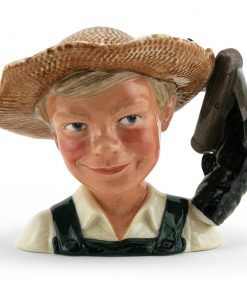 Huckleberry Finn D7177 - Small - Royal Doulton Character Jug