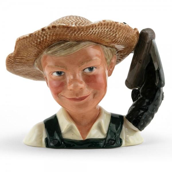 Huckleberry Finn D7177 – Small – Royal Doulton Character Jug 1