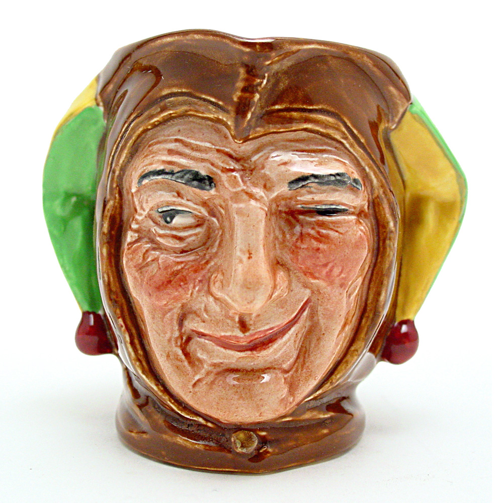 Jester D5556 - Small - Royal Doulton Character Jug