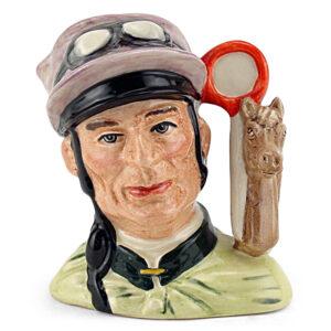 Jockey D6877 - Small - Royal Doulton Character Jug