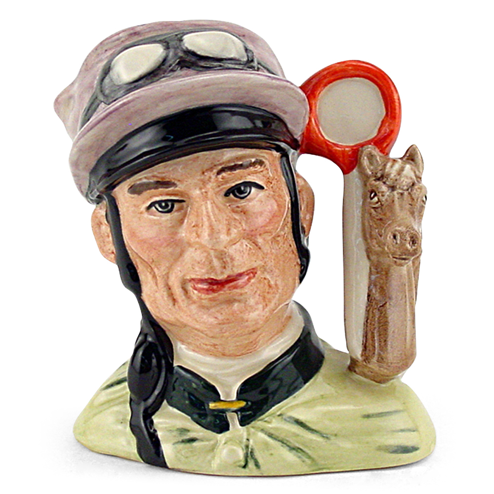 Jockey D6877 - Small - Royal Doulton Character Jug