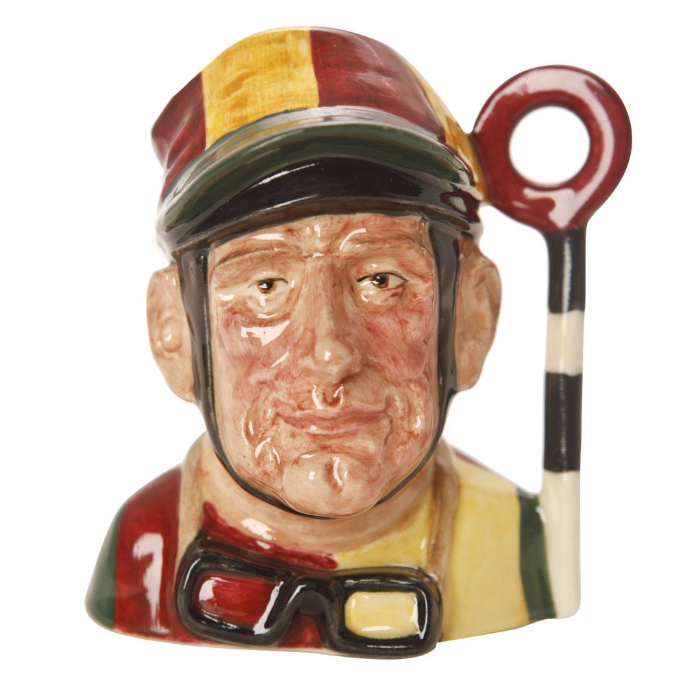 Jockey Winning Pole Prototype - Small - Royal Doulton Character Jug