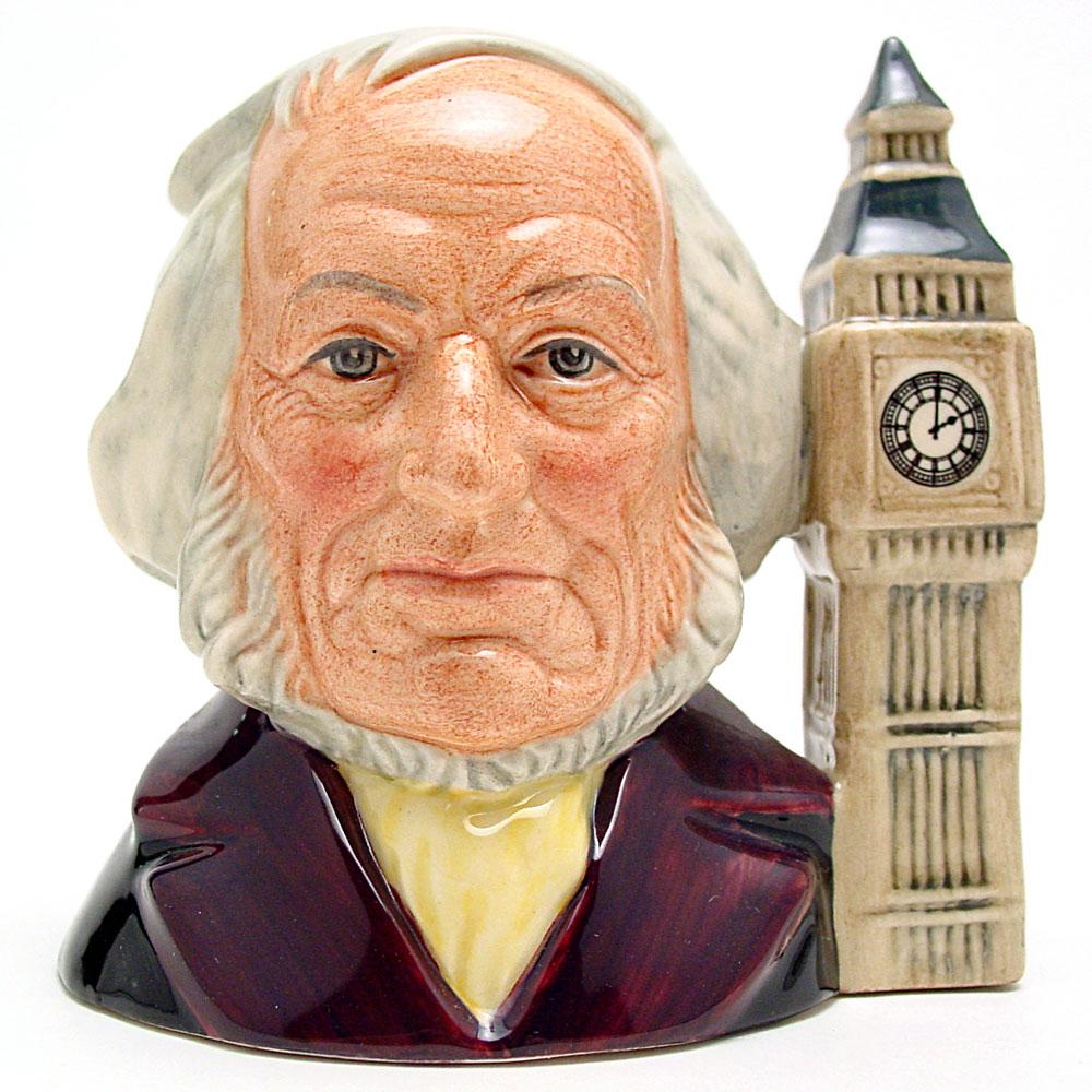 John Doulton 2 O'Clock D6656 - Small - Royal Doulton Character Jug
