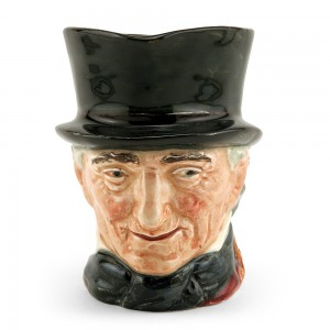 John Peel Orange D5731 - Small - Royal Doulton Character Jug