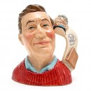 Jug Collector D7147 - Small - Royal Doulton Character Jug