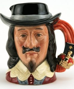 King Charles I D6985 - Small - Royal Doulton Character Jug