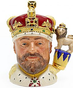 King Edward VII D6923 - Small - Royal Doulton Character Jug