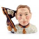 King George VI D7167 - Royal Doulton Character Jug
