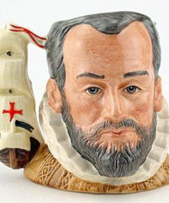 King Phillip of Spain D6822 - Small - Royal Doulton Character Jug