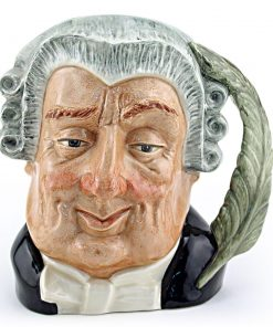 Lawyer D6504 - Small - Royal Doulton Character Jug