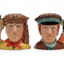 Meriwether Lewis and William Clark Pair D7235 & D7234 - Small - Royal Doulton Character Jug