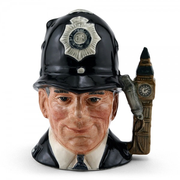 London Bobby D6762 (Embossed) - Small - Royal Doulton Character Jug