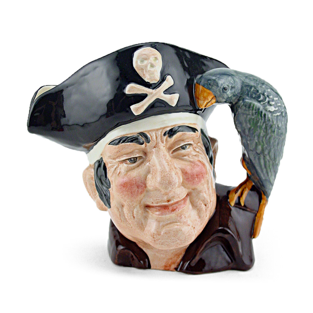 Long John Silver D6386 - Small - Royal Doulton Character Jug