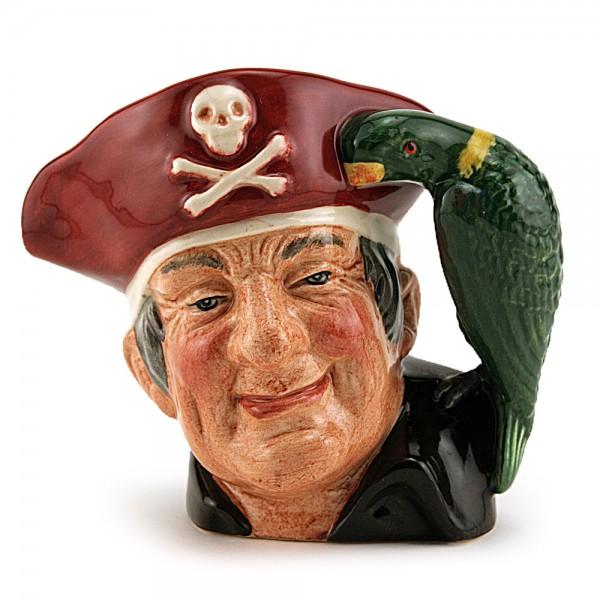 Long John Silver D7138 (Treasure Chest Backstamp - Colorway) - Small - Royal Doulton Character Jug