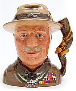 Lord Baden Powell D7144 - Small - Royal Doulton Character Jug