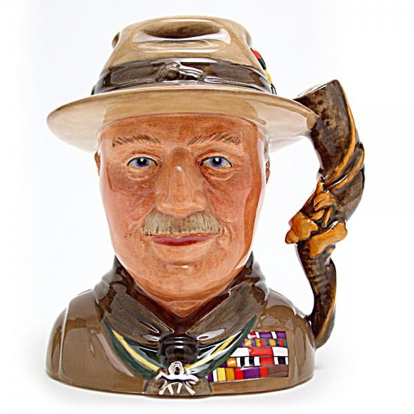 Lord Baden Powell D7144 - Small - Royal Doulton Character Jug