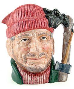 Lumberjack D6613 - Small - Royal Doulton Character Jug