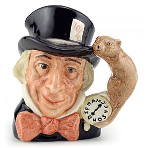 Mad Hatter D6602 - Small - Royal Doulton Character Jug