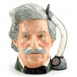 Mark Twain D6694 - Small - Royal Doulton Character Jug