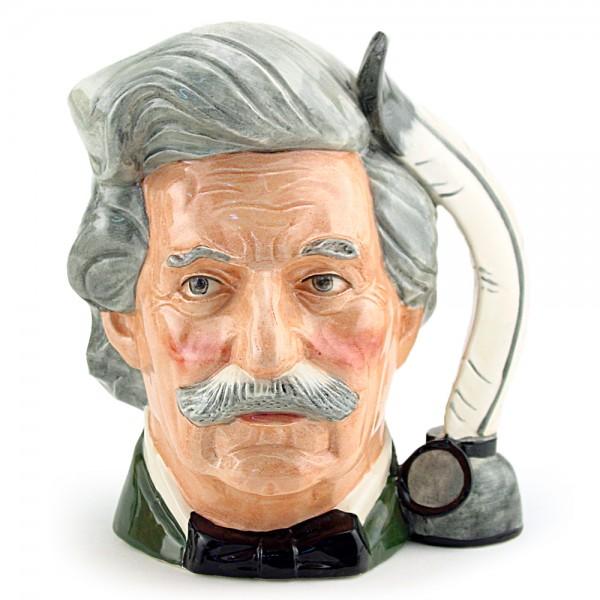Mark Twain D6694 - Small - Royal Doulton Character Jug