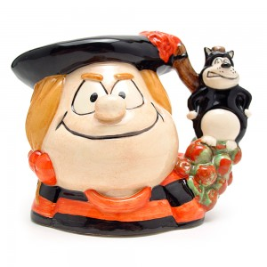 Minnie the Minx D7036 - Small - Royal Doulton Character Jug