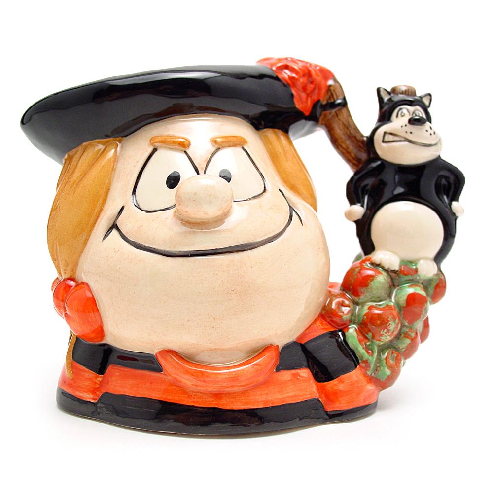 Minnie the Minx D7036 - Small - Royal Doulton Character Jug