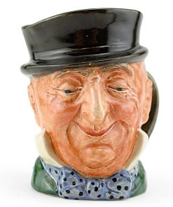 Mr. Micawber D5843 - Small - Royal Doulton Character Jug